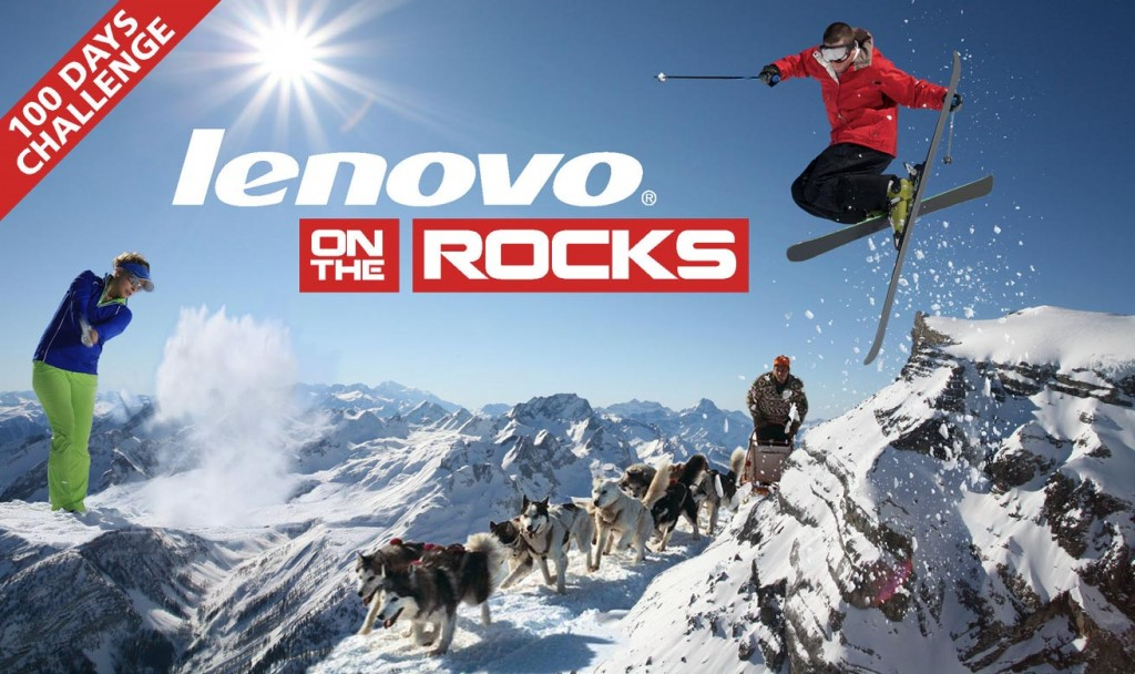 Tech Data Lenovo on the rocks